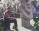The Easter Island head and myself