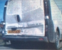 Vauxhall Viverio Van light damage